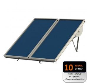 Ηλιακός Cronius COMPACT 200 λίτρα με 4,14 τμ επιλεκτικούς συλλέκτες – ΧΑΜΗΛΟΥ ΥΨΟΥΣ (1,17μ)
