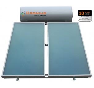 Ηλιακός Cronius PRO 200 λίτρα με 4,14 τμ επιλεκτικούς συλλέκτες