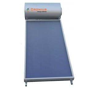 Ηλιακός Cronius INOX 120 λίτρα με 2,00τμ επιλεκτικό συλλέκτη