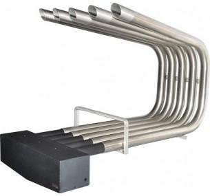 Αερόθερμο τζακιού ECOHOT INOX 1 με θερμοστάτη & φίλτρο